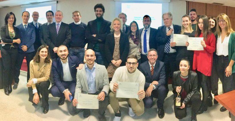 """I protagonisti della VIII edizione del percorso formativo    """"Impresa in Accademia"""" 2018"""